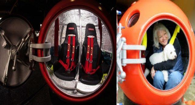 Già in commercio le prime capsule di salvataggio per disastri naturali. Costano poco e ci proteggono da tsunami, tornado, uragani, terremoti e tempeste!