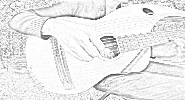 """Jamie Depuis, l'artista che suona """"The Sound of Silence"""" con una chitarra a 18 corde – preparatevi a un momento magico…"""
