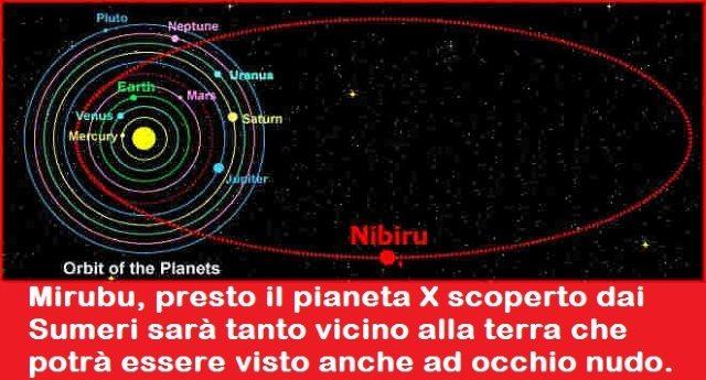 Fine del Mondo: Nibiru, il pianeta X scoperto dai Sumeri che presto colliderà con la terra. Una storia in bilico tra scienza, leggenda, fantascienza e bufala…