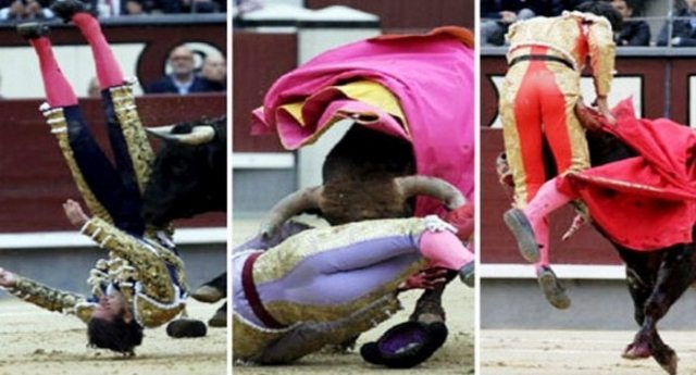 …Quella volta che vinsero i tori: Madrid, tutti i toreri incornati, corrida sospesa!