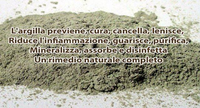 """L'argilla: l'antico, straordinario rimedio naturale troppo spesso """"sottovalutato"""" dalla medicina ufficiale!"""