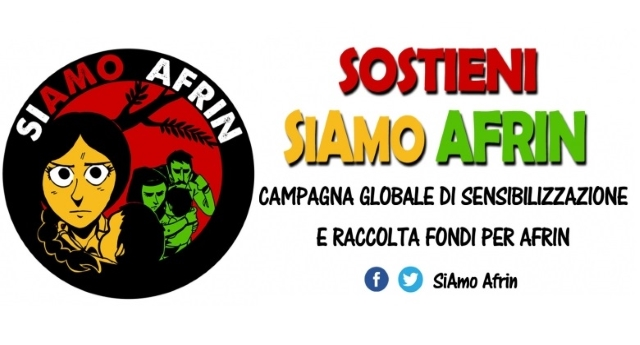 """""""SiAmo Afrin"""", mobilitazione per aiutare i profughi siriani che hanno combattuto l'Isis"""