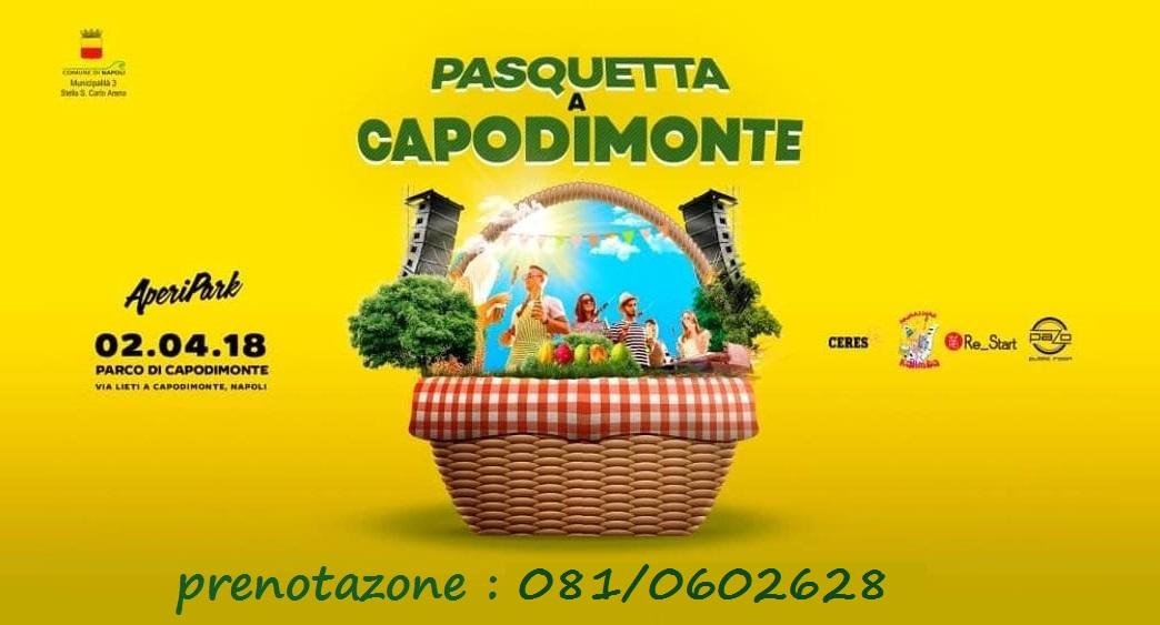 Pasquetta 2018 a Capodimonte con Aperipark Eventi a Napoli