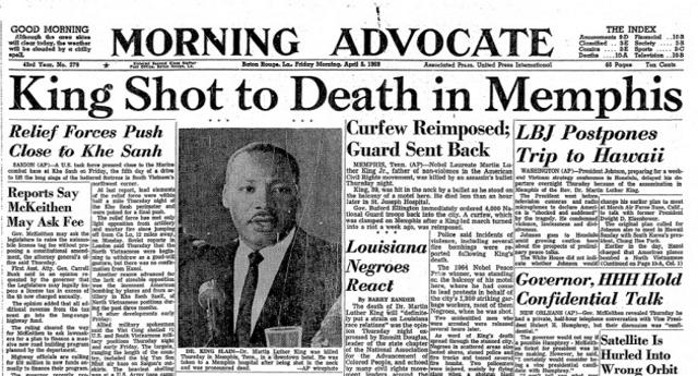 """Esattamente 50 anni fa veniva assassinato Martin Luther King. Lo vogliamo celebrare con un ricordo della figlia Bernice King: """"Vi racconto mio padre che ha sfidato il razzismo"""""""
