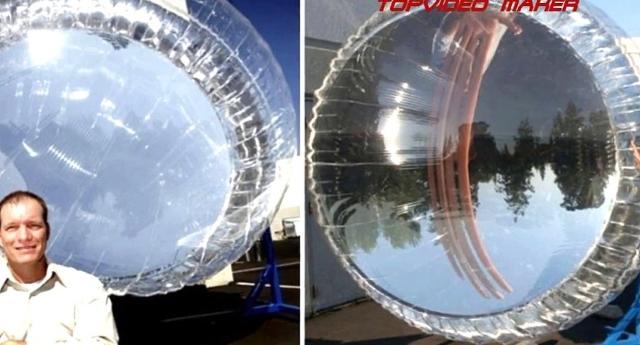 Globi solari gonfiabili. Costano due dollari, ma sono 400 volte più efficienti dei pannelli: 500 watt di produzione energetica…!