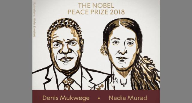 Chi è Nadia Murad, premio Nobel per la Pace 2018 insieme a Denis Mukwege – La Yazida, fatta schiava dall'Isis e sottoposta a ogni tipo di abuso, che oggi lotta per i diritti umani e contro ogni forma di oppressione