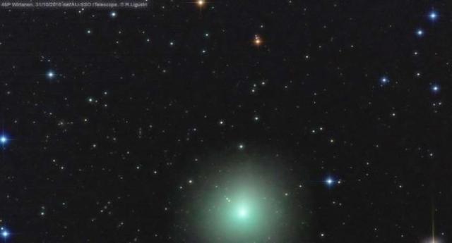 Ancora uno spettacolo dal cielo – In arrivo la cometa di Natale: si chiama 46P/Wirtanen e a dicembre sarà visibile a occhio nudo. Ecco come vederla.