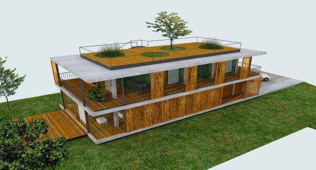 Una casa per tutti: costruire con il bambù