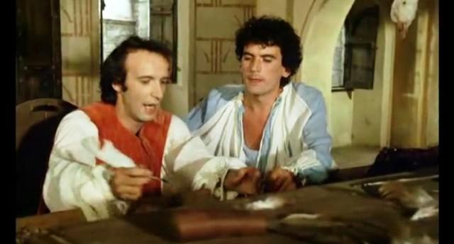 """Un Cult: Benigni e Troisi in """"Non ci resta che piangere"""" – La lettera a Savonarola."""