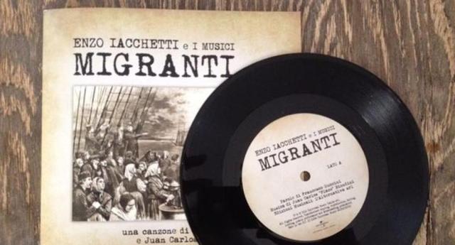 Migranti – La stupenda canzone scritta da Francesco Guccini e cantata da Enzo Iacchetti, chissà perchè esclusa dal Festival di Sanremo
