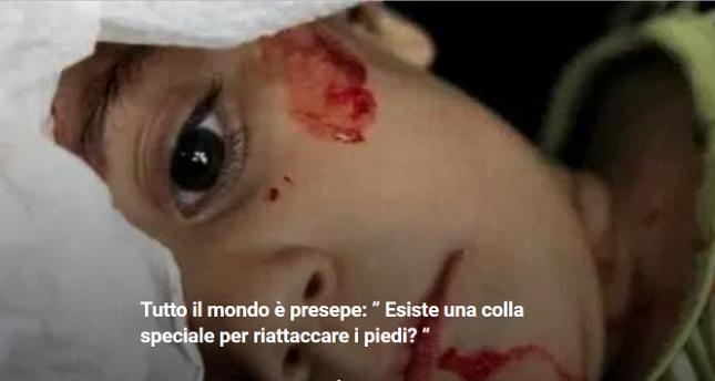 """Un racconto di Silvestro Montanaro: """"Esiste una colla speciale per riattaccare i piedi?"""""""