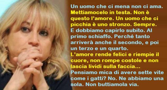 Il geniale, appassionato, divertentissimo monologo di San Valentino di Luciana Littizzetto